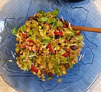 фото блюда камут с овощами