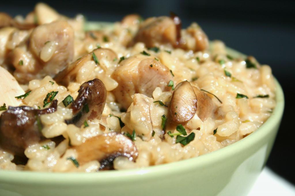Фото блюда камута с грибами