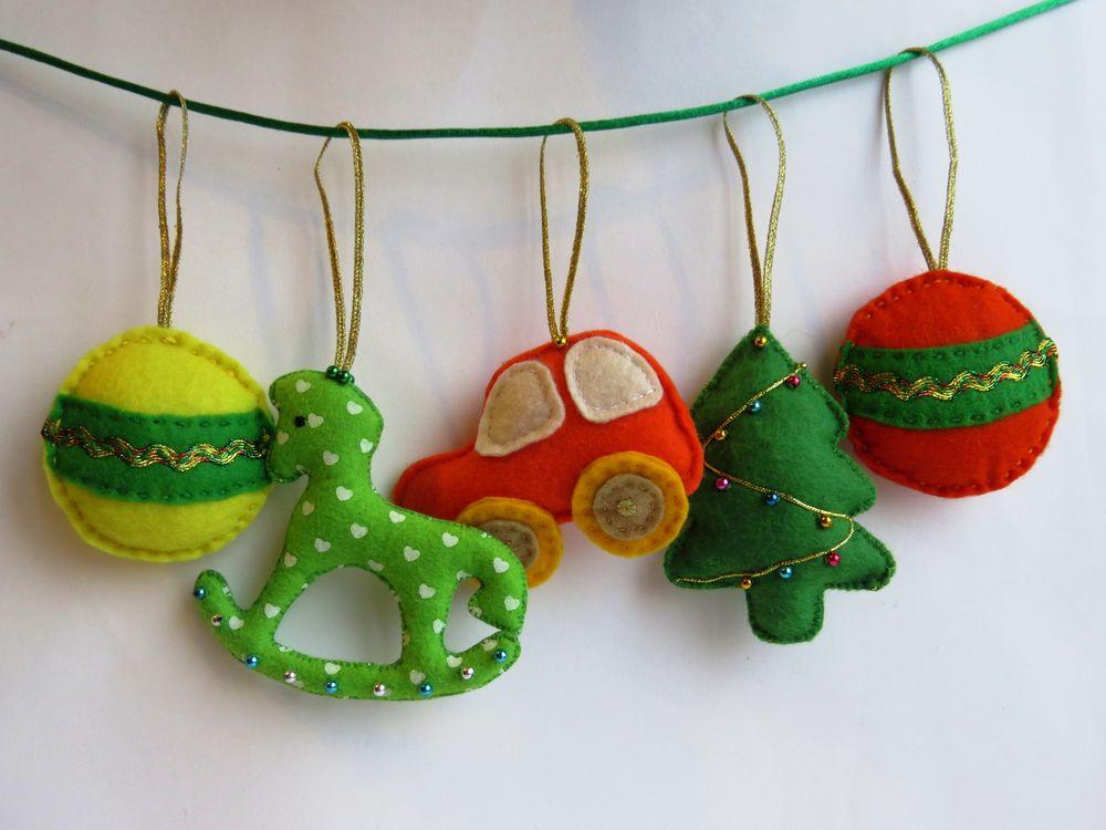 Фото новогодней гирлянды из мягких игрушек