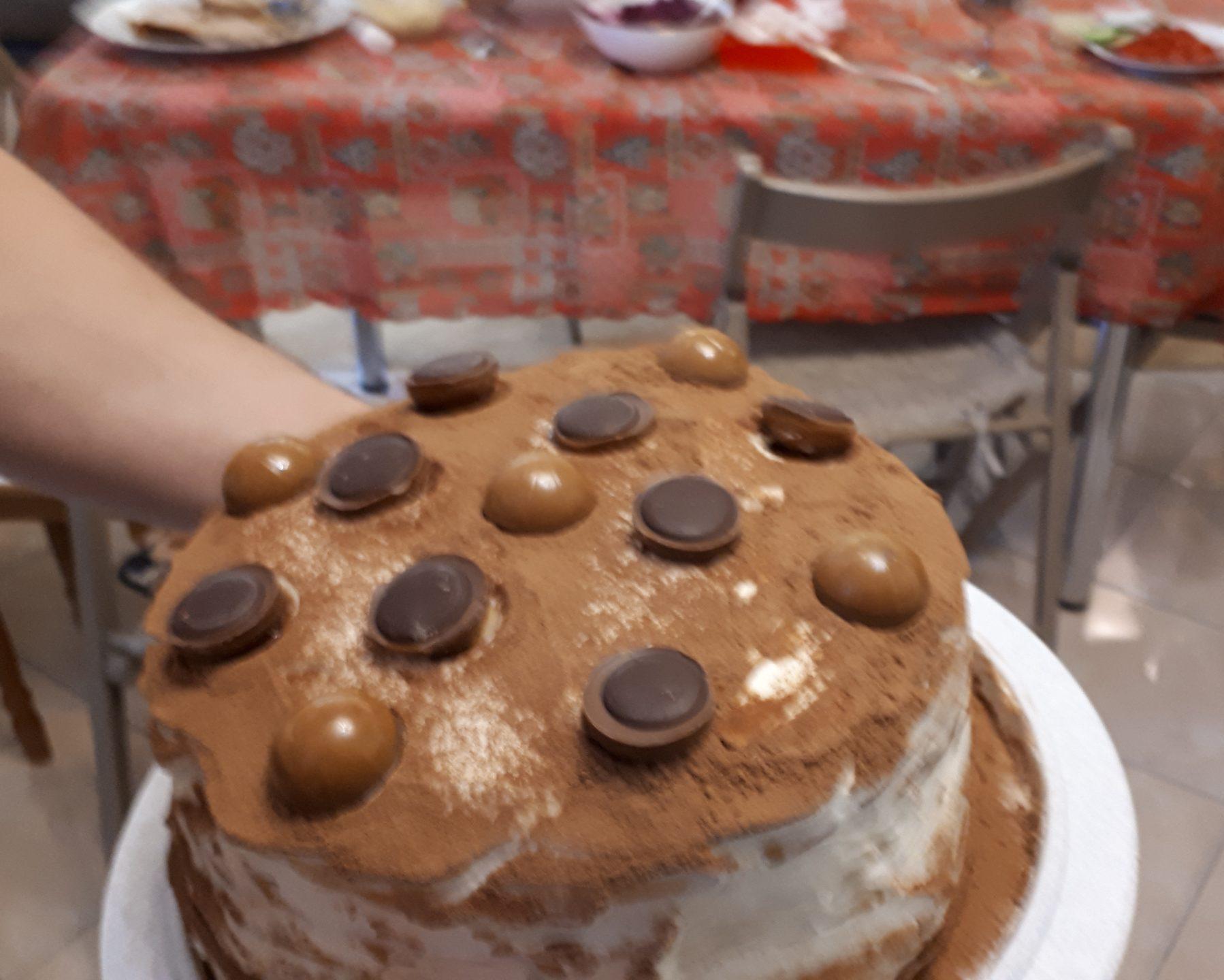 "Фото торта ""Молочная девочка"""