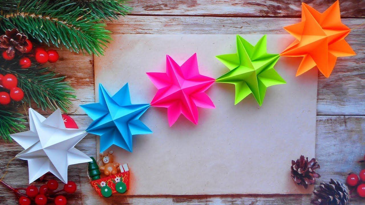 Фото новогодней гирлянды из бумаги