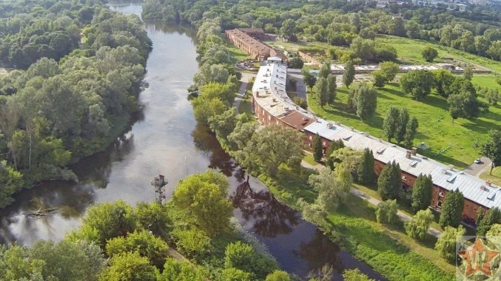 Фото расположения Брестской крепости